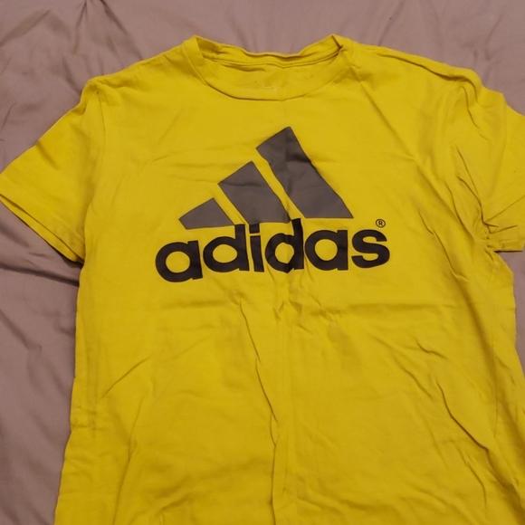 adidas shirt yellow